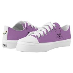 Shop Cute cat face womens sneakers created by Manitoba_Haunted. Personalize it with photos & text or purchase as is! Cat Shoes, Women's Shoes, Cute Cat Face, Cat Accessories, Kids Sneakers, Cute Halloween, Custom Sneakers, White Elephant Gifts, Athletic Shoes