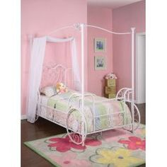 Cinderella Twin Carriage Canopy Bed Frame $359.00