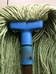 Angry mop ain't got time for that...