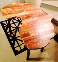 Awesome Way To Use Our Leftover Wood Flooring Scraps May