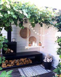 Small Backyard Ideas - Also if your backyard is small it additionally can be extremely comfy as well as inviting. Having a small backyard does not imply your backyard landscaping . Outdoor Areas, Outdoor Rooms, Outdoor Living, Outdoor Decor, Outdoor Fire, Indoor Outdoor, Garden Cottage, Home And Garden, Scandi Garden