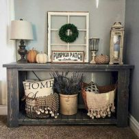 Rustic farmhouse mudroom decorating ideas (14)