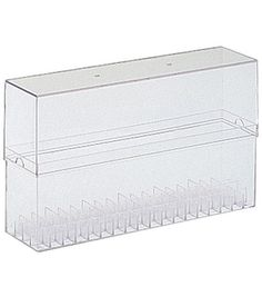 Size: 6.125inchesX12.875inchesX2.625inches Holds (72) Sketch markers The crystal clear case is perfect for securely storing or even transporting your Copic Markers.