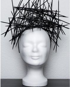 My finish result of my new headpeace cron #headpiece #cron #fotoshooting