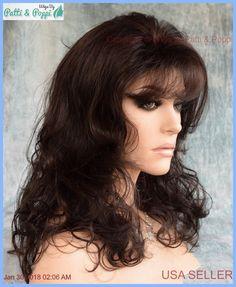 Becky Wig FASHIONABLE  WAVY STYLE R2/6 Dark Brown CheStnut Brown  NIB W/TAGS * #EsteticaDesigns