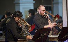 Concierto de Mediodía - Cuarteto de Trombones de Santiago. Foto: Patricio Melo.