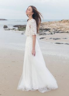 Lace & Tulle Wedding Dress New 2016 Stunning by MotilFineDesign