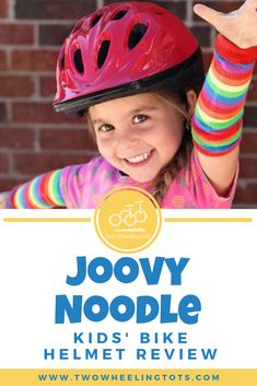 Who knows what the best selling kid's helmet on Amazon is? This one right here! The Joovy Noodle also happens to be one of *our* very favorite helmets.   From coverage and size, to pads and vents, we've done all the research so you don't have to!  Click through to read the full review! Kids Helmets, Bike Equipment, Kids Bicycle, Bicycle Helmet, Noodle, Amazon, Children, Young Children, Noodles