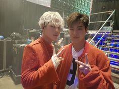 몬스타엑스_MONSTA X Shownu and Jooheon.