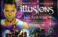 JAN ROUVEN ILLUSIONS @ TROPICANA