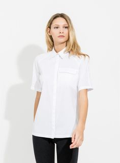 Carrall Button Up : Oxford Shirt | Kit and Ace | Women | Kit and Ace