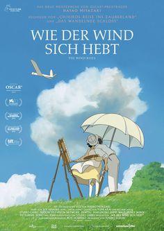 In Wie der Wind sich hebt von Hayao Miyazaki entwirft der sensible Jiro mit dem Traum Flugzeuge zu bauen den Zero Fighter aus dem Zweiten Weltkrieg.