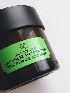 First Impressions of The Body Shop's Japanese Matcha Tea Mask