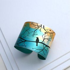 Bird on a branch cuff