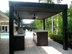 Google Image Result for http://slodive.com/wp-content/uploads/2012/03/outdoor-kitchen/custom-modern-outdoor-kitchen.jpg modern pergola