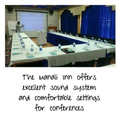Superlative environment, meeting the requirements of a conference Hotel in Manali, The Manali Inn  offers excellent sound system for closed-door meetings, private get-togethers and small dinner events.   #conference #Manali
