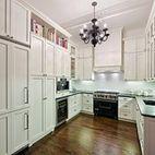 Soho Loft - eclectic - kitchen - new york - by ABCD Design LLC Shaker Style Kitchen Cabinets, Shaker Style Kitchens, Bright Kitchens, Black Kitchens, White Cabinets, Dream Kitchens, Cupboards, Kitchen New York, Loft Kitchen