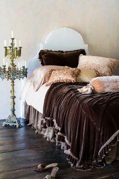 rich chocolate brown velvet