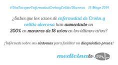 Día Mundial Enfermedad de Crohn y colitis ulcerosa