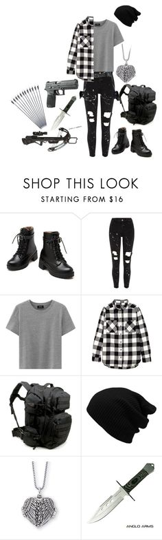 """""""Me In The Walking Dead"""" by glamergirl46 ❤ liked on Polyvore featuring River Island, H&M and Handle"""