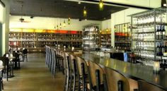 The Tasting Room is a casual but elegant neighborhood wine cafe tucked away in a European-style shopping center. Lighted Wine Bottles, Bottle Lights, Houston Nightlife, Space City, Wine Shelves, Mothers Day Brunch, H Town, Best Mother, Tasting Room