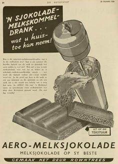 Aero Milkshake Old Advertisements, Advertising, Old Ads, Afrikaans, Milkshake, Smoothie