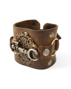 There is something about the combination of leather, hardware, and filagree that speaks to me