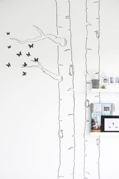DIY: butterfly tree