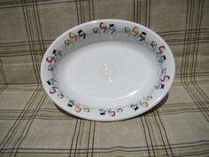 $23 Fiesta Ware Snowmen Oval Platter   eBay