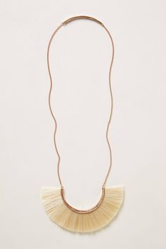 Wayfaring Necklace - anthropologie. 18k gold + horsehair + bronze = statement necklace