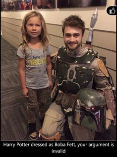 Harry Potter is Boba Fett
