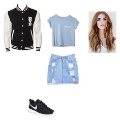 """""""Untitled #368"""" by deisy-santos on Polyvore featuring NIKE, women's clothing, women, female, woman, misses and juniors"""