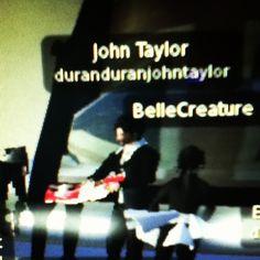 John Taylor reading his book on Second Life 9/16/12 #duranduran