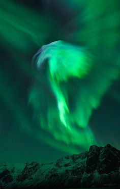 The Northern Lights over Norway, amazing! Need to see!