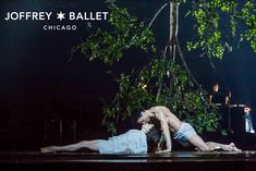 The Joffrey Ballet   Midsummer Night's Dream   Photo of April Daly and Fabrice Calmels by Cheryl Mann