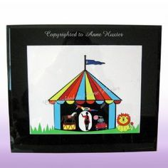 Circus Vinyl Design Template