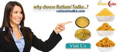 We take pride in saying that our namkeen offer the best taste with quality and with the most right service of delivering. All this painstaking process makes our namkeen not only tasty but healthy to eat too. http://www.ratlamitadka.com