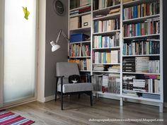 renowacja, tapicerowanie - czyli jak odnowić stary fotel z prlu Bookcase, Shelves, Diy, Home Decor, Couches, Armchair, Shelving, Decoration Home, Bricolage