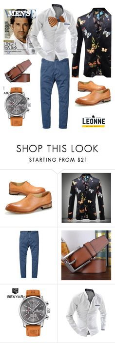 """""""Style for him"""" by leonnestyle ❤ liked on Polyvore featuring men's fashion and menswear"""