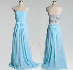 ETSY Light blue prom dressbridesmaid dress  Wedding bridesmaid by FM520, $109.99 Date Dresses, Prom Dresses Blue, Bridesmaid Dresses, Formal Dresses, Wedding Dresses, Our Wedding, Dream Wedding, Prom Date, Wedding Bridesmaids