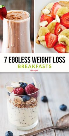 Youre sure to find an eggless breakfast you'll love on this list savory sweet protein-packed no-sugar-added whatever your breakfast taste buds desire! Healthy Family Meals, Healthy Breakfast Recipes, Clean Eating Recipes, Cooking Recipes, Breakfast Dishes, Healthy Eating, Healthy Foods, Keto Recipes, Healthy Junk