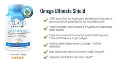 Omega Ultimate Shield! Triple Strength: 3 Times more EPA and DHA than most brands.