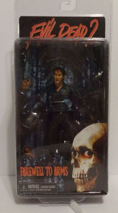 Neca Evil Dead 2 Farewell To Arms Ash Action Figure #NECA