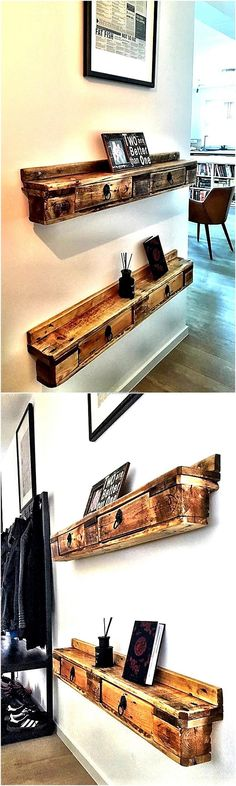 pallet shelving idea