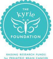 Working hard to raise research funds to cure children's brain cancer.