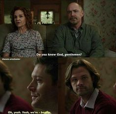 Sam is so done with your shit, Dean.