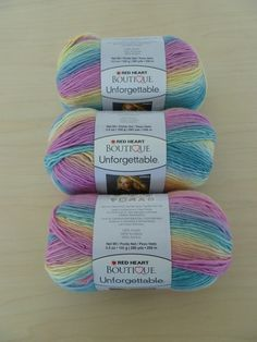 @Crochet Today is doing a giveaway of @Red Heart Yarns Boutique Unforgettable yarn – deadline 8/30