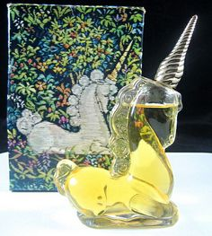 Avon unicorn novelty perfume bottle.  (If you know what this was actually called, please add it below.  Thanks!)