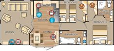 new jersey 40 x 16 2 bed sleeps 4 floor plan 16 Small House Floor Plans, Cabin Floor Plans, Derksen Cabin, Pre Built Cabins, Shed Homes, Tiny Homes, Tiny House Nation, Floor Plan Layout, Building A Shed