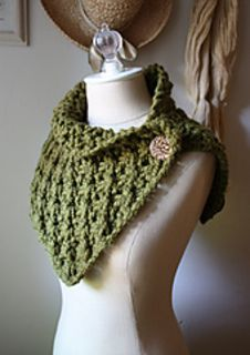 """Asterique Cowl/Shoulder Warmer ~ blocked measurements: 30"""" x 10"""" ~ love this stitch called """"asterique"""" - so very pretty! ~ KNT"""